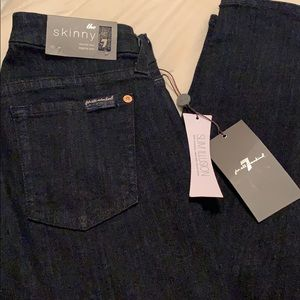 """The Skinny"" 7 For All Mankind Legging Jeans"